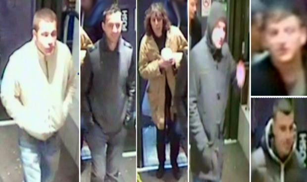 Police want to speak to these six people.