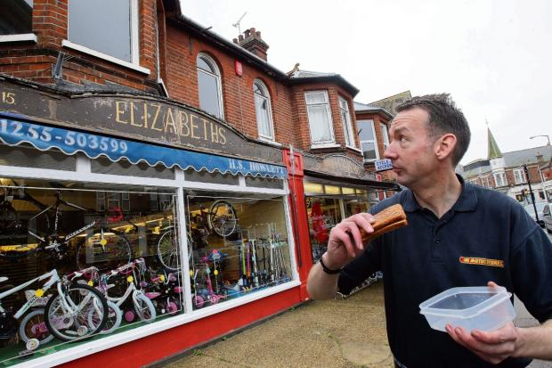 Cycle shop uncovers a slice of history