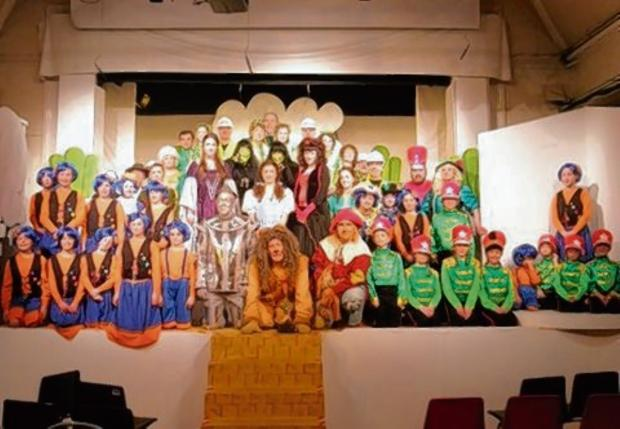 Brantham performers at their last show