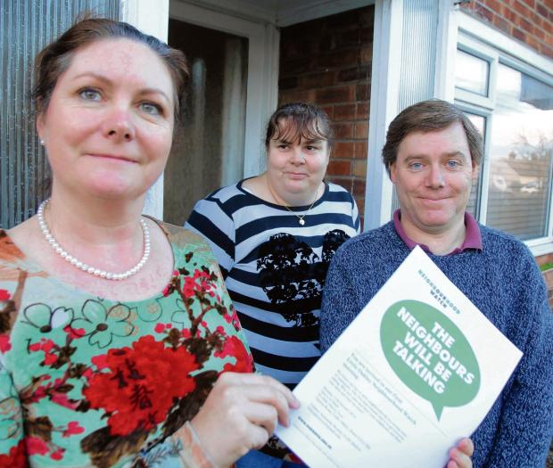 Concerned neighbours set up new crime-watch group