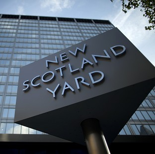 Scotland Yard says a 21-year-old man has been a