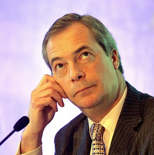 Nigel Farage was allegedly the victim of an assault.