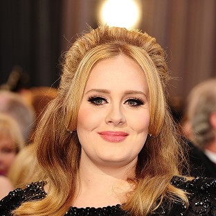 File photo dated 24/02/13 of Adele as a relative of the chart-topping global star is to be seen showing off her own abilities as a contestant on BBC1 talent show The V