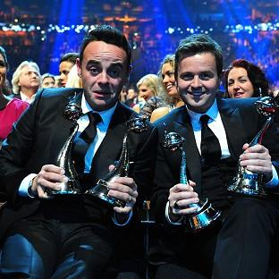 Ant and Dec celebrat