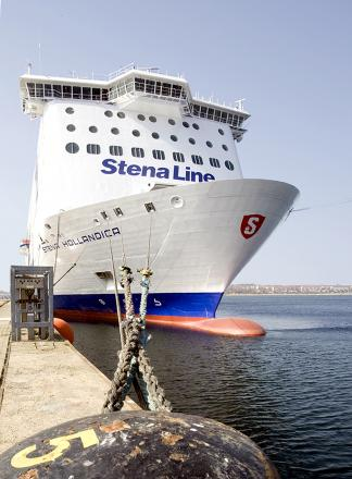 Record year for Stena's Harwich ferry