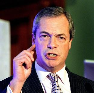 "Harwich and Manningtree Standard: Ukip leader Nigel Farage has dismissed the ban on handguns as ""ludicrous"""