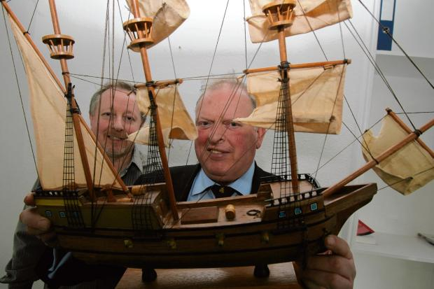 Buy your place on the maiden voyage of the replica Mayflower... for £250,000