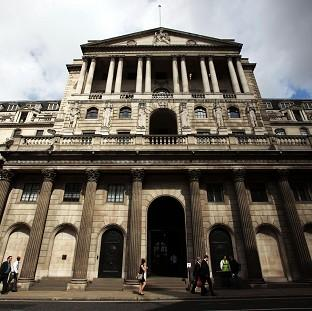 The Bank of England indicated it was in n