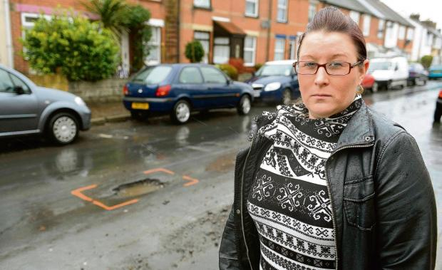 Calls to fix pricey pothole
