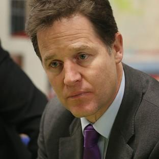 Nick Clegg has condemned the practice of confining mentally ill people to a police custody suite when appropriate services are not available