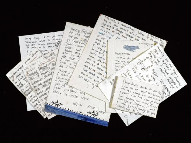 Dedham artist's letters sold at auction