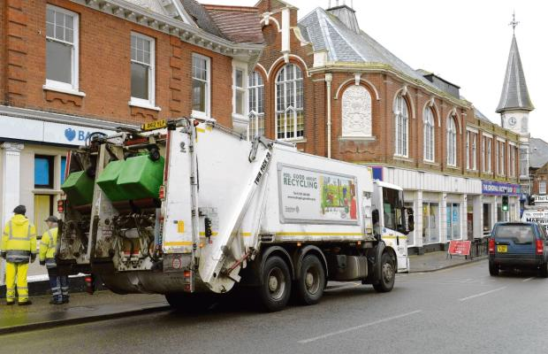 Recycling boss rejects claims tips will close