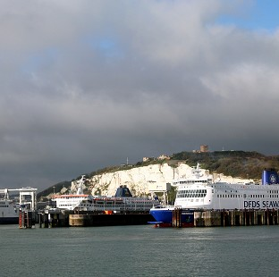 Money was seized at the Port of Dover.