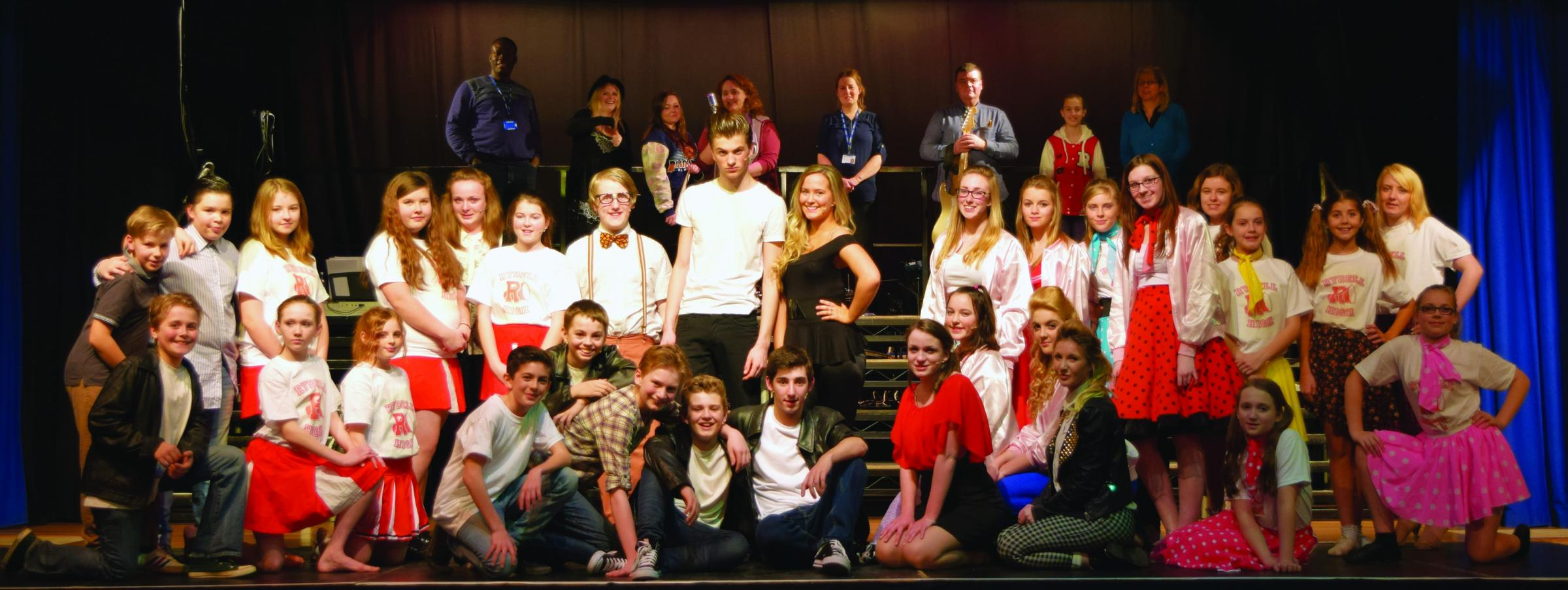 Students celebrate theatre production