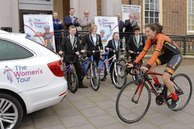 Harwich and Manningtree Standard: Route for star-studded cycling event revealed