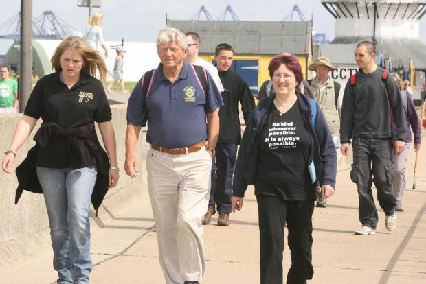 Walkers gear up for big day