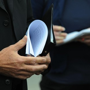 Peter Straker is accused of transporting confidential medical records in a plastic bag in a taxi