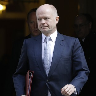 Foreign Secretary William Hague denounced the Crimea referendum as a