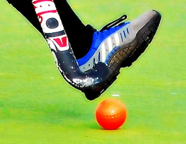Hockey club secure third place in the table