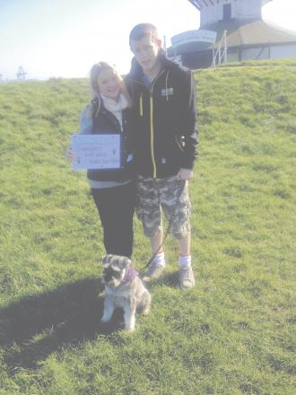 Community dog walk a success