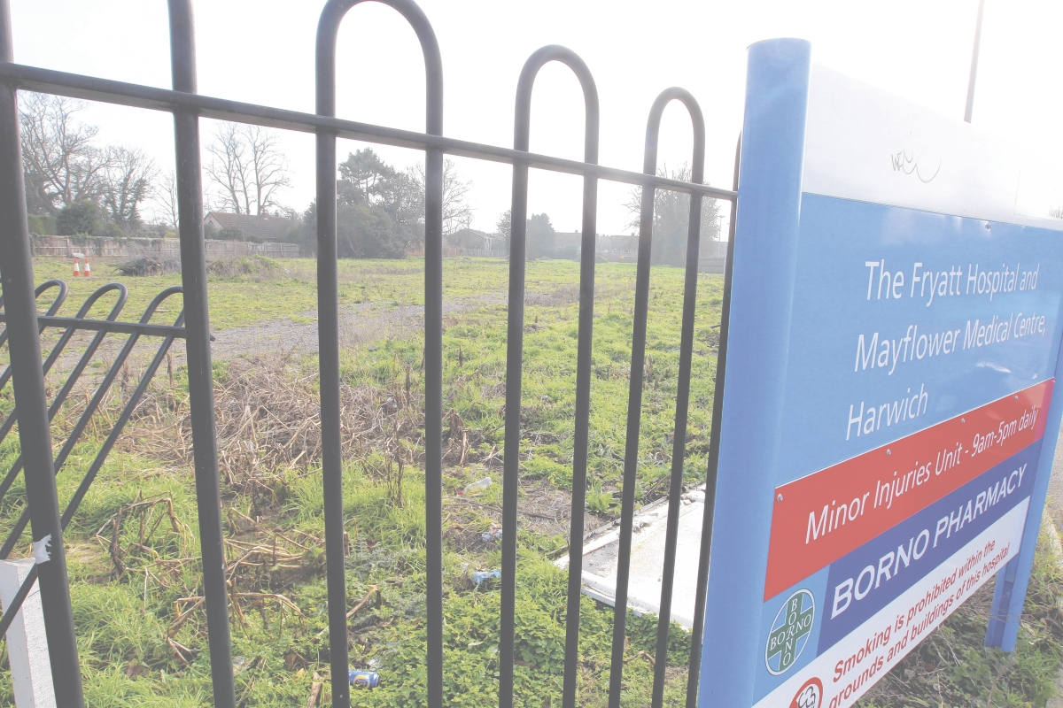 Old hospital site back on the market at £1m