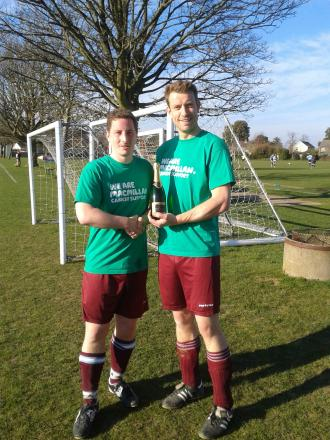 Big match raises £850