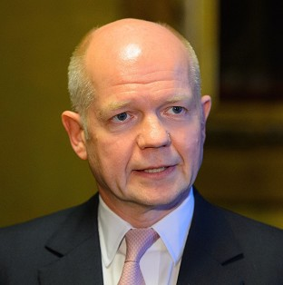 Foreign Secretary William Hague urged a broader energy mix as he insisted nations should not 'run scared' of Moscow's 'bullying behaviour' in Ukraine