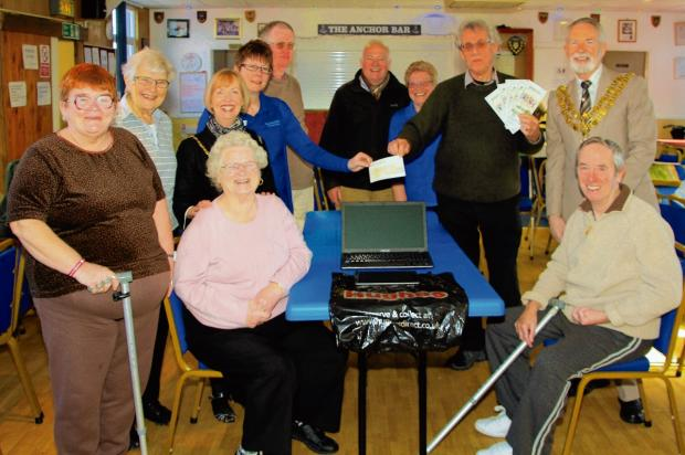Money for for stroke survivors group