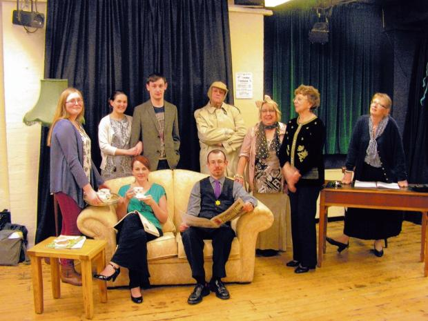 Theatre group celebrating milestone with murder weekend show