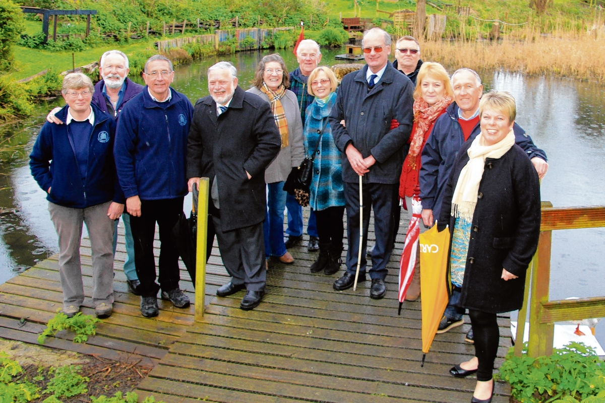 Councillors get guided tour of nature reserve