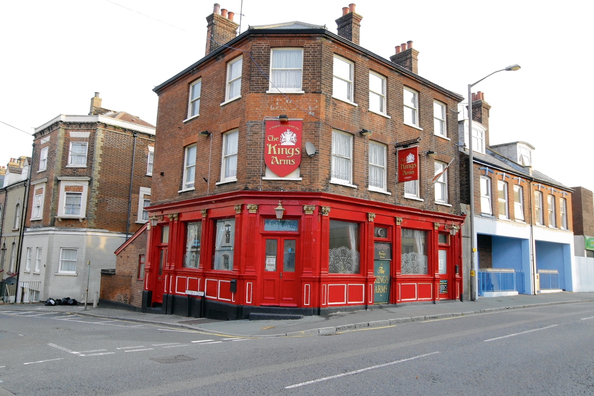 Struggling pub is put on the market