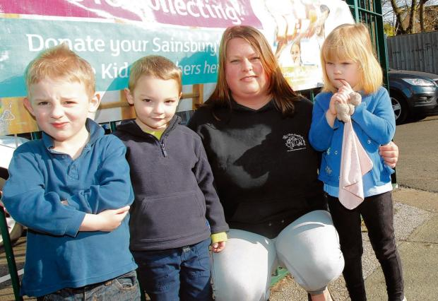 Pre-school boss hits out at 'ridiculous' theft of banner
