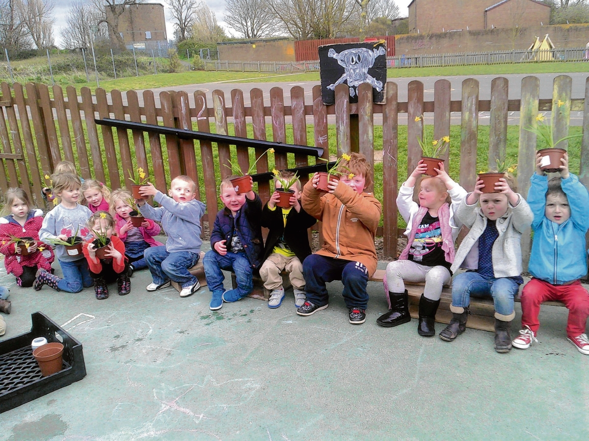 Nursery's blooming great effort to support