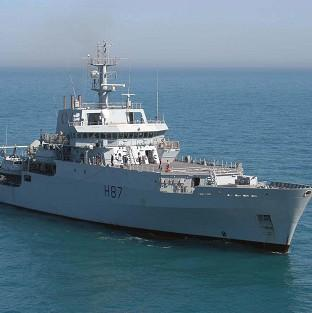 HMS Echo is to start sear