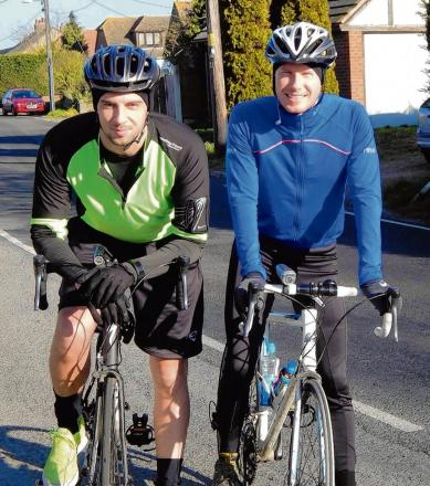 Best pals to bike length of UK to help hospital unit