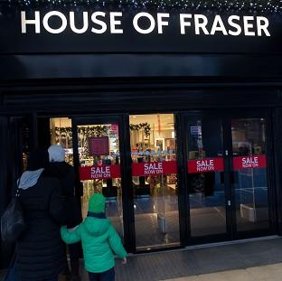 Harwich and Manningtree Standard: House of Fraser has sold a majority stake in its business to Chinese conglomerate Sanpower