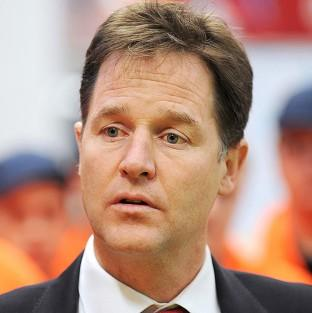 Deputy Prime Minister Nick Clegg is to announce plans for up to thr