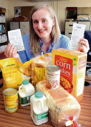 Reporter Rebecca looks at which supermarkets offer best value