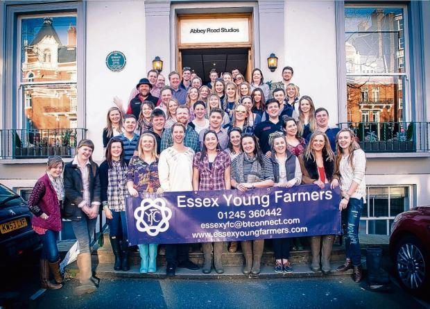 Young farmers hope charity song will be a hit