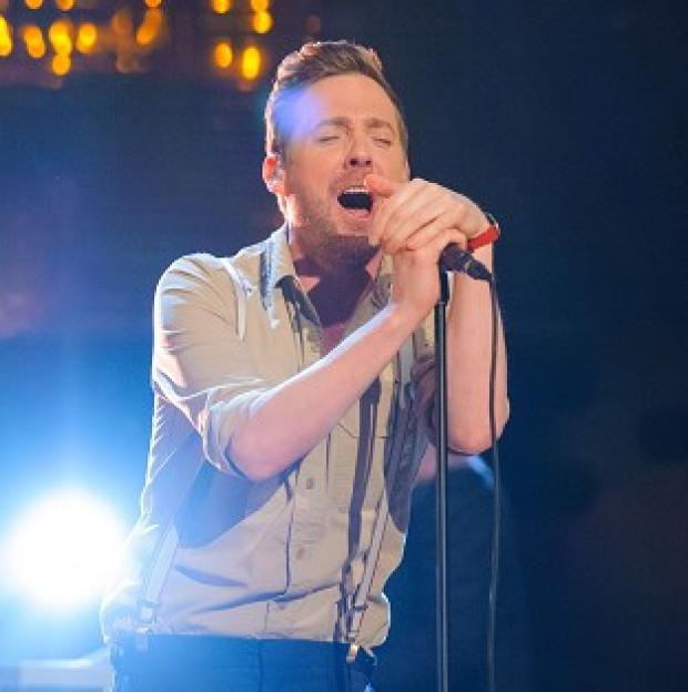 Harwich and Manningtree Standard: Ricky Wilson is waiting to hear about his future on The Voice