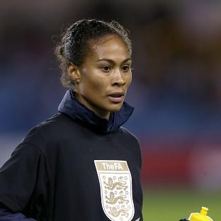 England and Arsenal Ladies forward Rachel Yankey will be