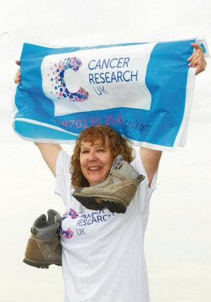 Anne's charity challenge for her 60th year
