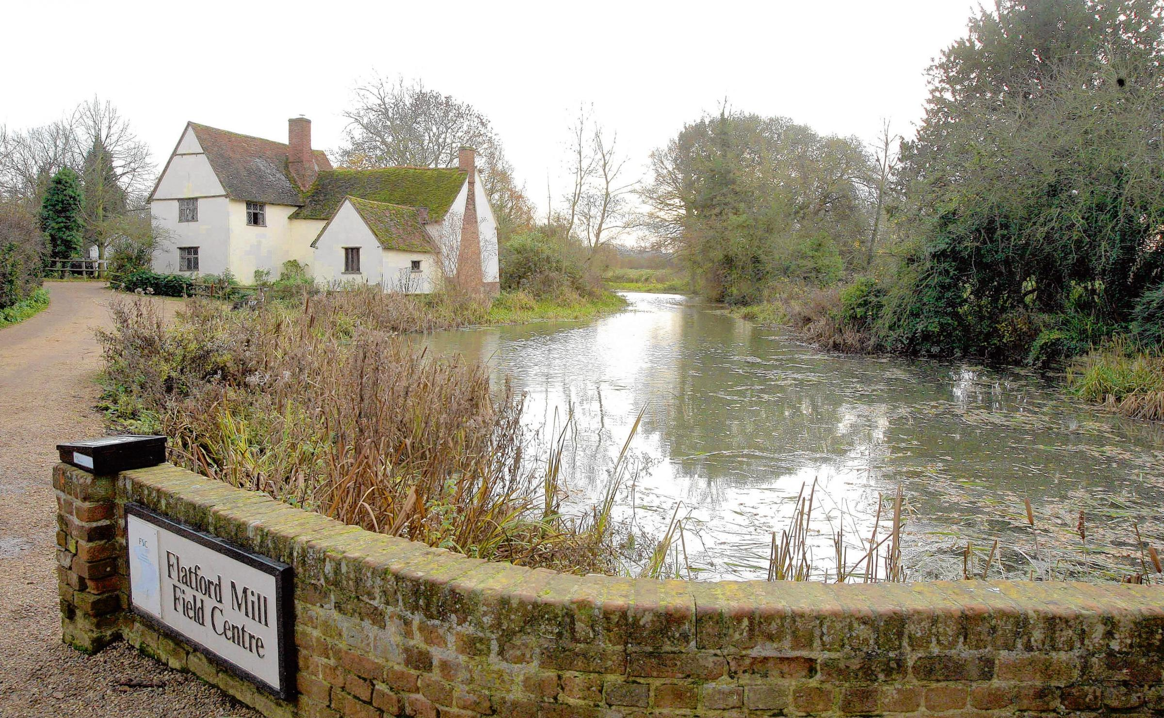 Flatford Mill named as a great green space
