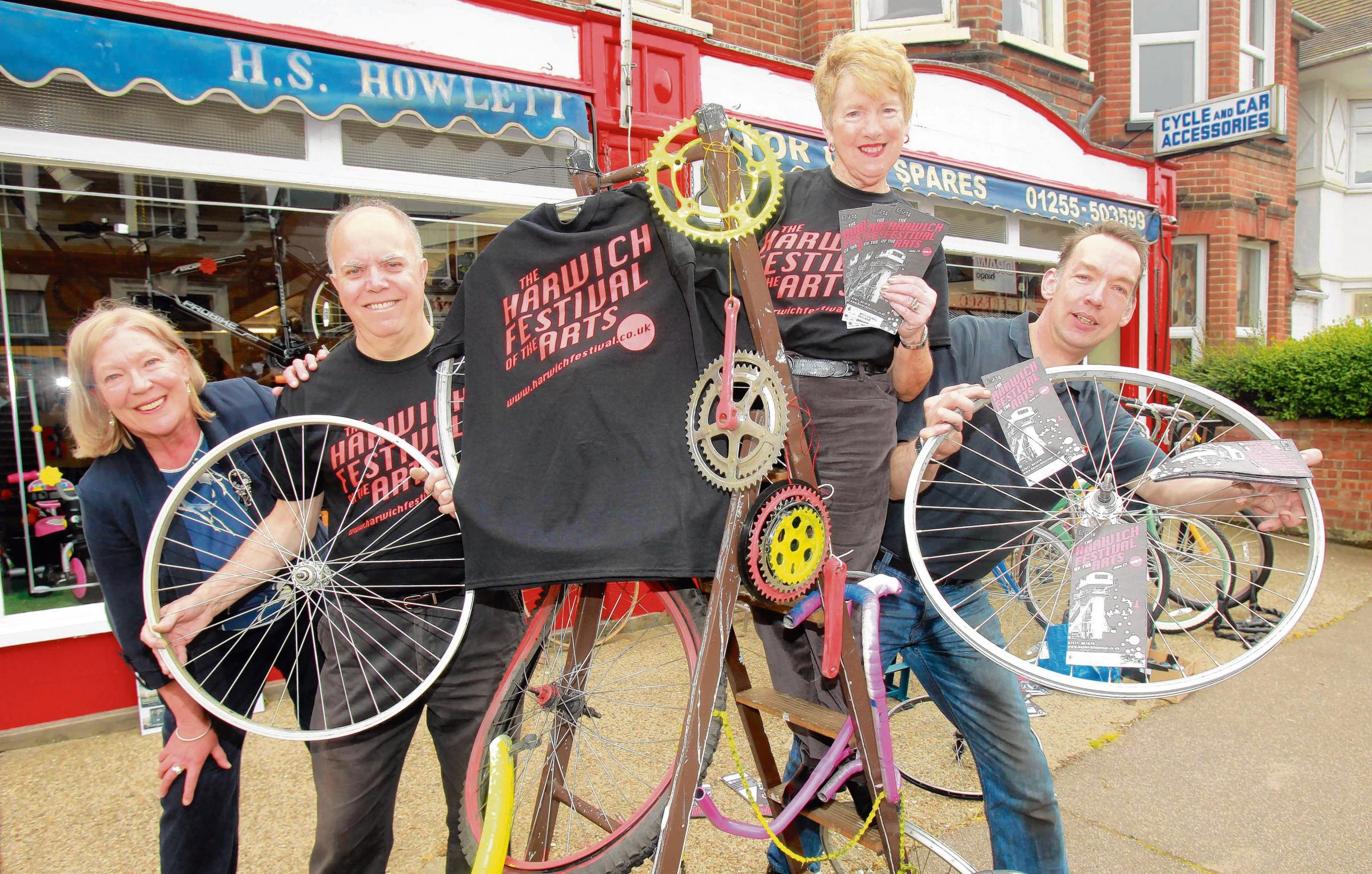Wheels start turning for arts