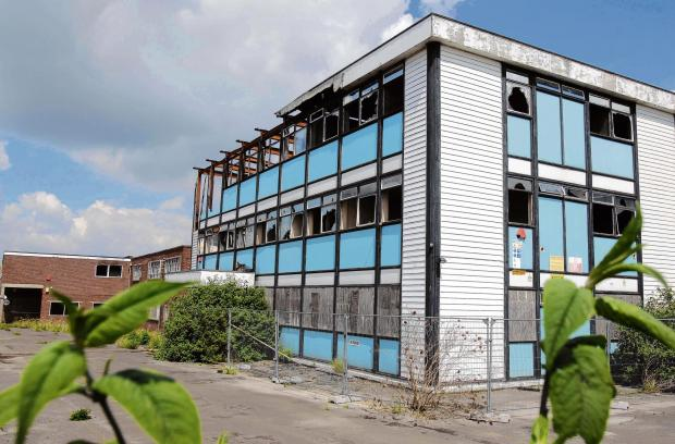 Calls to pull down eyesore building after another fire