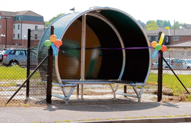 Youth shelter finally installed in Manningtree