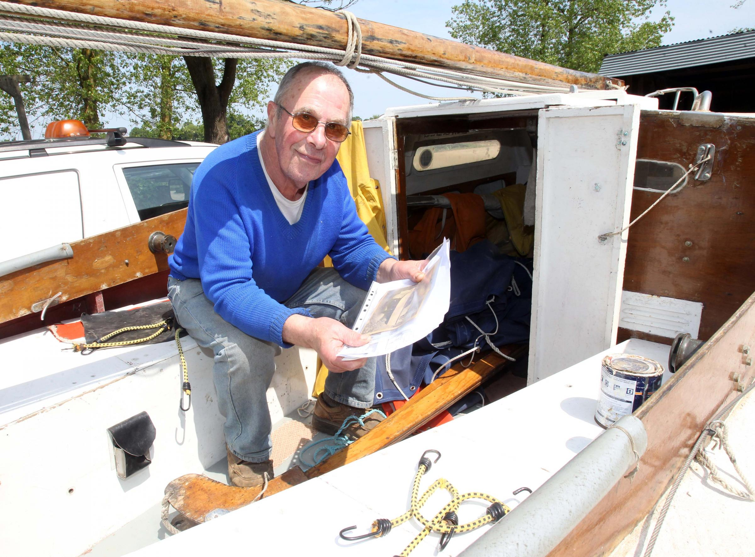 Graham's still sailing on after 50 years
