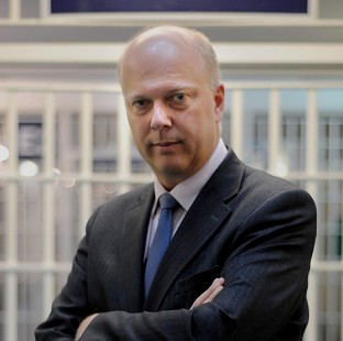 Justice Secretary Chris Grayling said health and safety changes are aimed at cutting