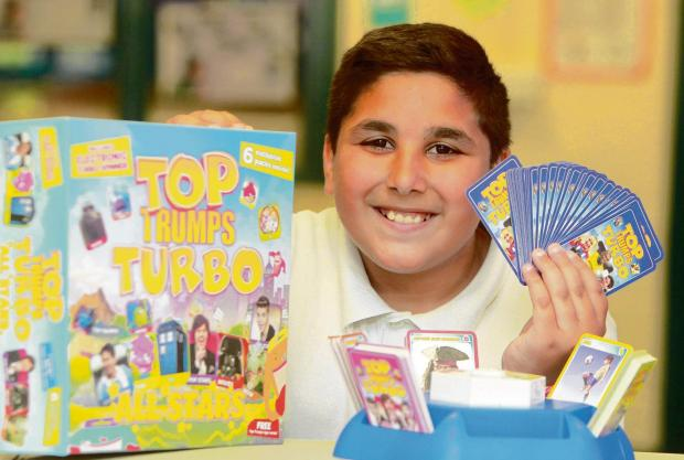 Marek has his sights set on Top Trumps title