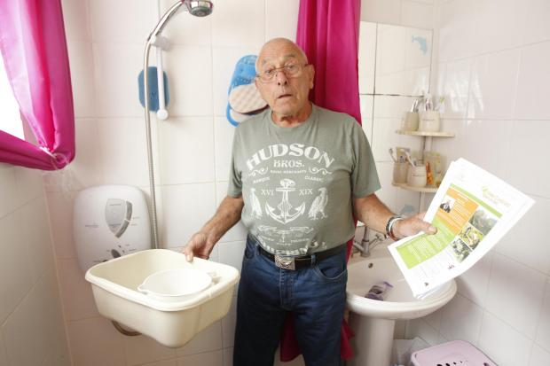 Couple's fury after housing association leaves them without shower